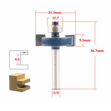 "1piece T type 1/4""x3/8"" wood working tools trimming router bits milling cutter"