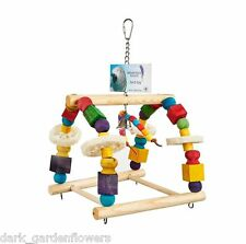 Abacus  Parrot Toy Idea for Amazon or African Grey Size Parrots
