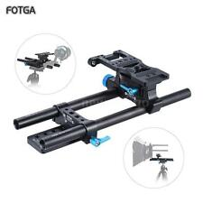 FOTGA DP500II-S 15mm Rod Rail Support System Base Plate Rig for DSLR BMPCC N0M9