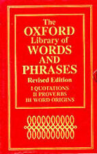 The Oxford Library of Words and Phrases:  Concise Oxford Dictionary of...