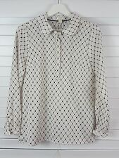 J CREW sz 6 (or 00 ) womens print blouse top