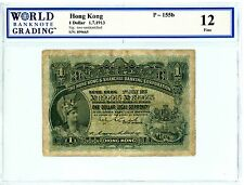Hong Kong ... P-155b ... 1 Dollar ... 1-Jul-1913 ... *F+*