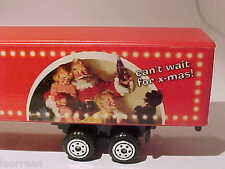 Kenworth Coca-Cola Xmas Christmas Truck 1/87 H0 Diecast & Plastic Mint Loose