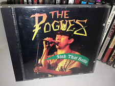 The Pogues ‎Sink That Bottle Rare Cd Recorded live in Europe 1990