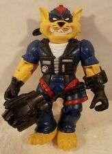 SWAT Kats - T-Bone By Remco 1994 With Handcuffs (Loose/Complete)
