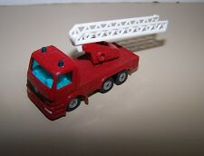 Siku Red Ladder Mercedes Fire Truck Diecast / Plastic Vehicle #1015