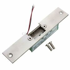 Fail Safe Narrow-type Door Electric Strike Steel Lock for Access Control 12V DC