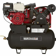 NorthStar Portable Gas-Powered Air Compressor Honda GX390 OHV Engine 30Gal Tank