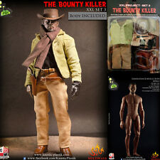 1/6 Scale KAUSTIC PLASTIK BOUNTY KILLER set django + BODY COMPLETE no hot toys