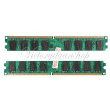 MEMORIA MEMORY RAM 4GB 2X2GB DDR2 PC2-5300 5300U 667 MHZ DIMM DESKTOP PC 240 PIN
