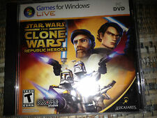 Star Wars: The Clone Wars: Republic Heroes DVD-ROM NEW SEALED