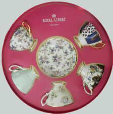 ROYAL ALBERT 100 YEAR TEACUP & SAUCER 10 PIECE SET 1900-1940 BNIB #27280890 F/S