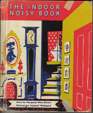 1942 Children's Book, The Indoor Noisy Book by Margaret Wise Brown