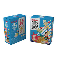 Set of 3 x KELLOGGs 25 Piece Magnetic Jigsaw Puzzles Coco Pops Rice Krispies