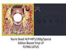 FLYING LOTUS You're Dead! * SEALED WARPLP256X 4xLP DELUXE BOXSET UK 2014