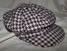 BERET Houndstooth ALABAMA CRIMSON TIDE Hat Black White Red Brown Gray