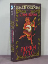 1st,signed by author,Songkiller 1:Phantom Banjo, Elizabeth Ann Scarborough(1991)