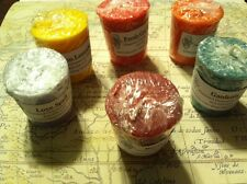 Pick 6 2oz Natural Palm Wax Scented 15 Hour Votive Candle Assorted Scents