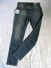 VINTAGE 55 Damen Blue Jeans W26/L32 low waist regular fit straight slim leg