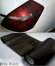 "Vinyl Film Tint 12"" x 24"" Headlight Taillight Fog Wrap Cover Gloss Light Smoke"