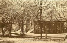 Vintage Postcard Prebyterian Church Curwensville PA Clearfield COunty