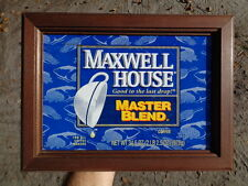 Repurposed Framed Maxwell House Coffee Can Picture Kitchen Restaurant Decor Sign