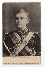 PORTUGAL famille royale portrait de D. LUIZ FILIPPE jeune, en habit