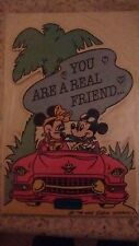 STAND UP GREETINGS CARD YOU ARE A REAL FRIEND