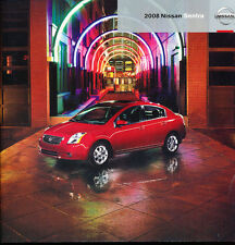 2008 Nissan Sentra and SE-R 44-page Original Car Sales Brochure Catalog