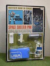 VINTAGE MATTEL MAJOR MATT MASON CARDED SPACE SHELTER PAK