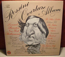 """The Rossini Overture Album Szell and Bernstein Columbia 12"""" LP MG35187 Classical"""