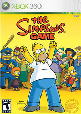 **  THE SIMPSONS GAME  ** for XBOX 360 ** DISK ONLY **