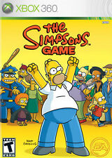 Xbox 360 The Simpsons Game Rated Teen Action Adventure Kids Game
