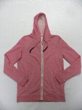 Roxy Woman Signature Pink L/S Zip-Up Hoodie Sz Medium