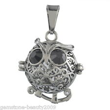 1PC Black Owl Pendant for Mexico mexican harmony Bola Necklace