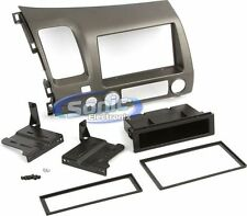 Scosche HA1561ETB Single DIN Installation Dash Kit 2006-Up Honda Civic Vehicles