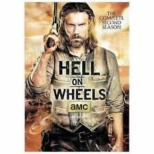 Hell on Wheels: The Complete Second Season (DVD, 2013, 3-Discs) Ships for FREE!