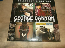 GEORGE CANYON DECADE OF HITS autographed vinyl record # 147/500 PROOF