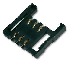 Connectors - PC Board - CARD READER SIM 1.6MM 6PIN - Pack of 5