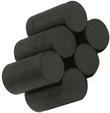"""1/2"""" X 1/4"""" Ceramic Disc- Ceramic/Ferrite Magnet, Grade C-11"""