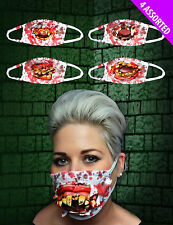 Zombie Surgeon Doctors Medical Face Mask Gory Blood Halloween Fancy Dress 11758