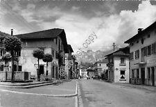 Cartolina - Postcard - Domegge di Cadore  - una via cittadina- 1955