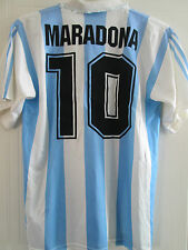 Argentina Maradona World Cup 1994 Home Football Shirt Adult Medium / 39405
