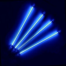 4pcs Car Auto Blue CCFL Neon Tube Light Interior Undercar Underbody Lamp Kit