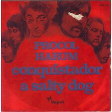 PROCOL HARUM - Conquistador / A Salty Dog French 7' Psych Prog PS 72