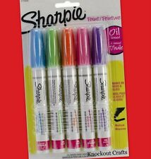 SHARPIE Medium Point Oil-Based Paint Markers 5 Count 1770459 ~ KNOCKOUT CRAFTS