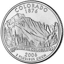 2006 D Colorado State Quarter BU