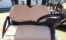 GOLF BUGGY / CART  / SEAT COVERS / Fits Club Car - PRECEDENT & EMC Carts