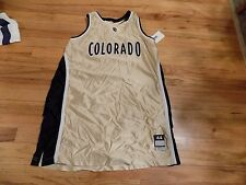 COLORADO BASKETBALL WARM UP JERSEY Size 44 LENGTH +2 GAME WORN