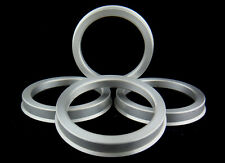 SET OF 4 ALUMINUM ALLOY HUB CENTRIC RINGS 67.1mm. TO 56.1mm.
